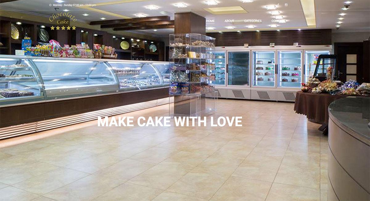 chocolate cake pastry